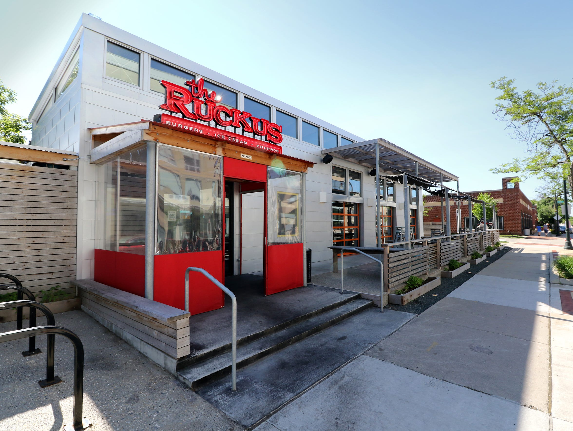 The Ruckus, 4144 N. Oakland Ave., is an example of a business that was given a facade grant by the village of Shorewood. The grants are meant to improve the look of storefronts in the village's commercial district.