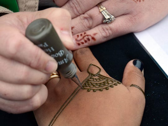 Henna will be available at Indiafest in Melbourne.