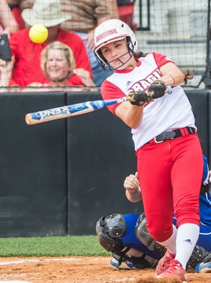 Cajuns right fielder Haley Hayden may be playing the final home game of her career at Lamson Park on Sunday.