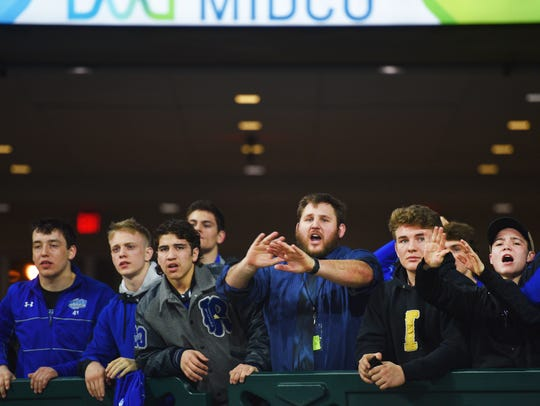 RC Stevens fans cheer during the 2018 SDHSAA State