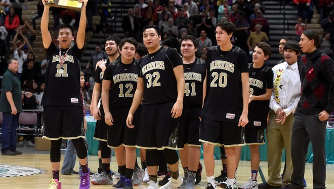 Despite hardship and heartache off the court, It was ultimately a season of celebration for the Heart Butte Warriors.