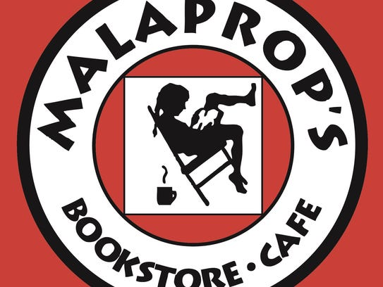 Malaprop's Bookstore/Cafe logo.