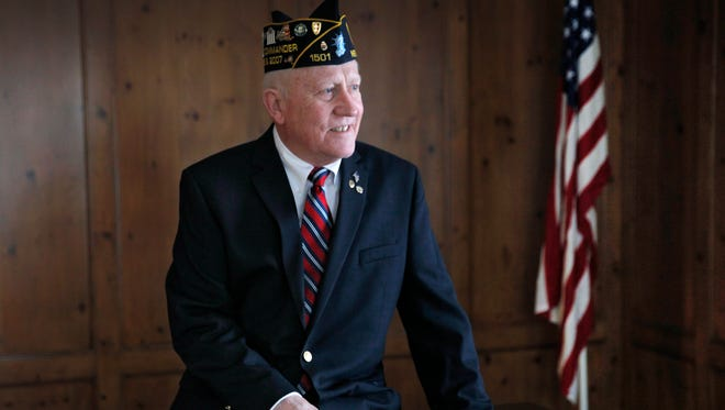 American Legion Commander Rene C. Vanmulem of Penfield was recently honored with an Award of Excellence for his decades of service to the organization.