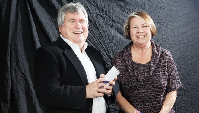 Michael Davis and Carol McAlice Currie of the Statesman Journal, will be 'Holding Court' at Court Street Dairy Lunch.