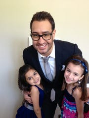 Anthony D'Ambrosio with his nieces. He refuses to give