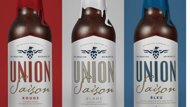 The Braxton Brewing Co. introduces its 2017 edition Union Saison.
