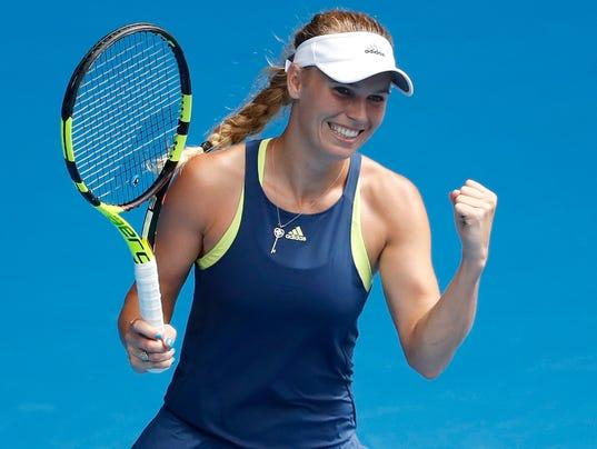 2018-01-20 Caroline Wozniacki