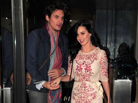 Katy Perry and John Mayer