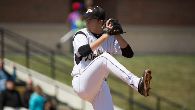 Purdue pitcher Jordan Minch announced he will sign with the Chicago Cubs, who selected him in the 35th round of the June draft.