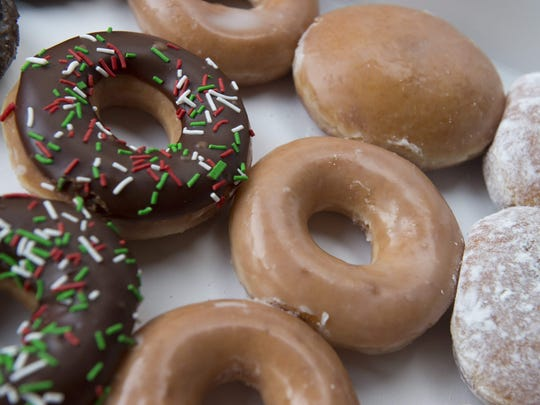 The first Friday in June is National Doughnut Day.