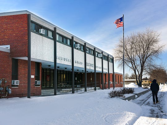 Gov. Mark Dayton's bonding plan includes money for the St. Cloud National Guard Training and Community Center shown Tuesday, Jan. 16, along Veterans Drive.