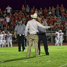 Liberty County Precinct 5 Constable L.W. DeSpain said he told the refs they should have tossed the player out. But instead, the refs penalized him 15 yards for unsportsmanlike conduct. They also filed a formal complaint accusing the constable of abusing his authority.