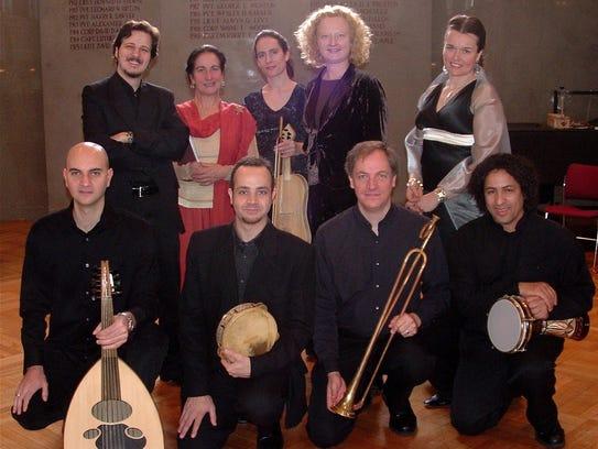 Boston Camerata and SHARQ Arabic Music Ensemble will