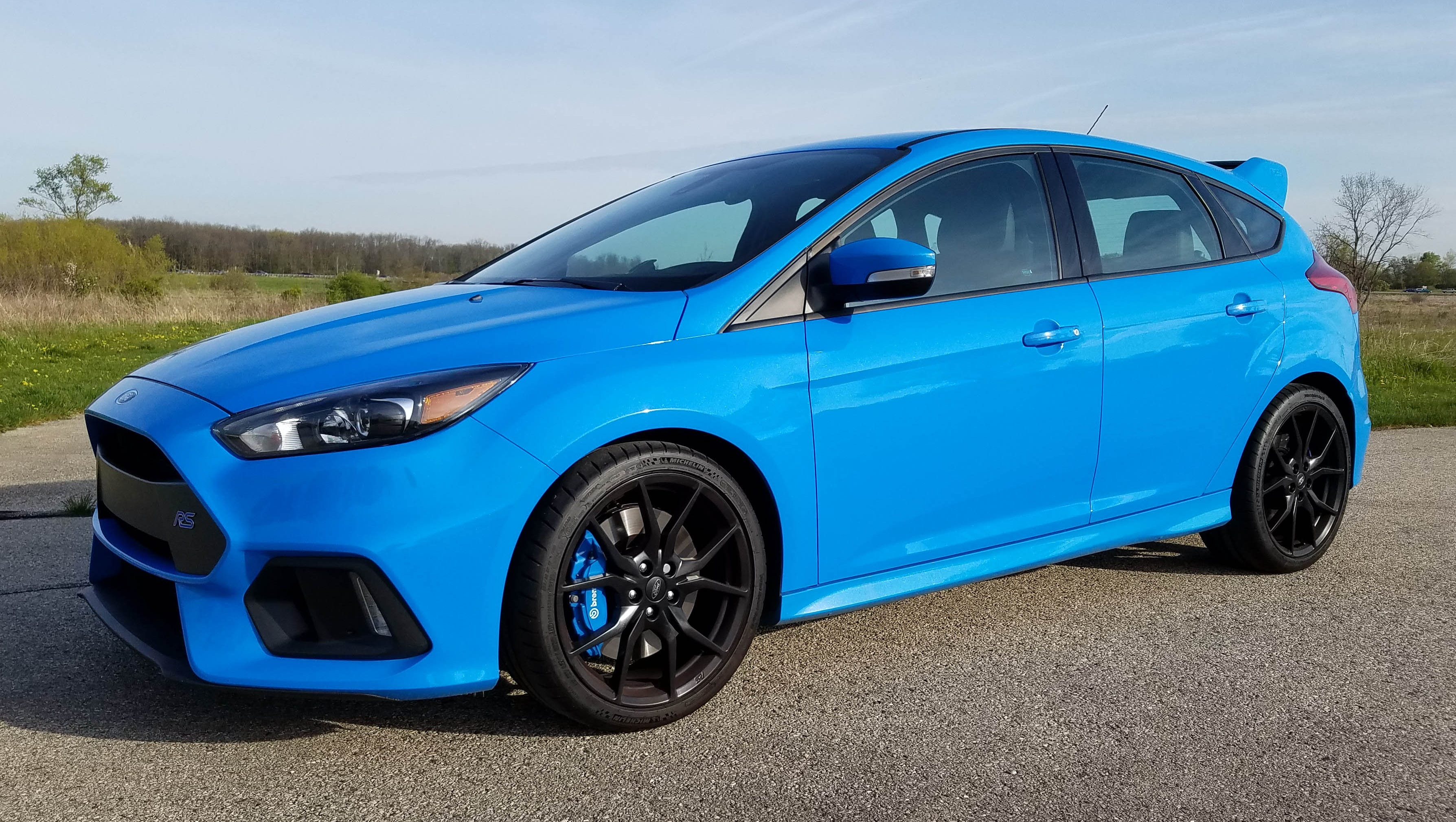 Savage On Wheels 2017 Ford Focus Rs Is Fast Furious And Fun