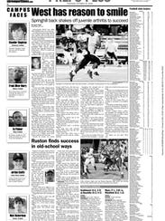 A story on Charcandrick West that appeared in The Times