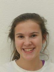 Hallie Rogers, Hagerstown High School volleyball