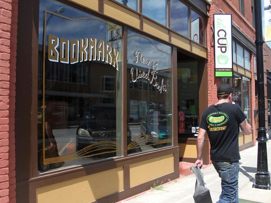 Bookmarx, a new and used bookstore, opened on Walnut Street in June in the space formerly occupied by Good Girl Art.