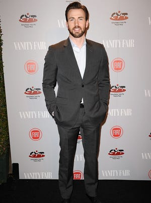 Chris Evans attends the Vanity Fair Campaign Young Hollywood party on Feb. 25.