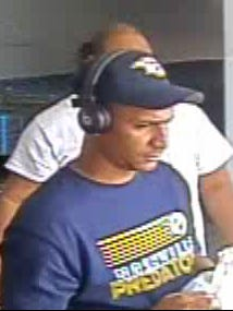 RCSO is asking the public for help in identifying this man in connection with possible credit card fraud at the Walmart on South Rutherford Boulevard April 10, according to a news release from Sheriff's Detective Jason Dowdle. The suspect was wearing a Nashville Predators cap and T-shirt at the time as shown on security footage and was seen to drive away in a dark-colored SUV.