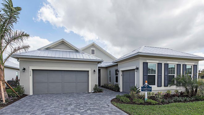 Ashton Woods' Corinthe model in Savannah Lakes at Naples Reserve.