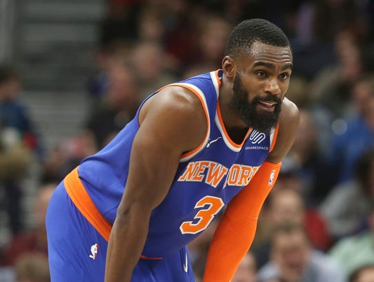New York Knicks' Tim Hardaway Jr. returns to action