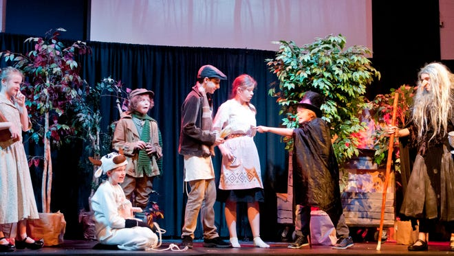 A production of Into the Woods Jr. in August marked the tenth anniversary of Summer Rocks Production Camp at Emmanuel Lutheran School. In two weeks, the actors, ages 8 to 17, learned their lines, musical numbers, choreography, scene changes, sound and lighting cues and more. Next year the group plans to put on Peter Pan Jr.