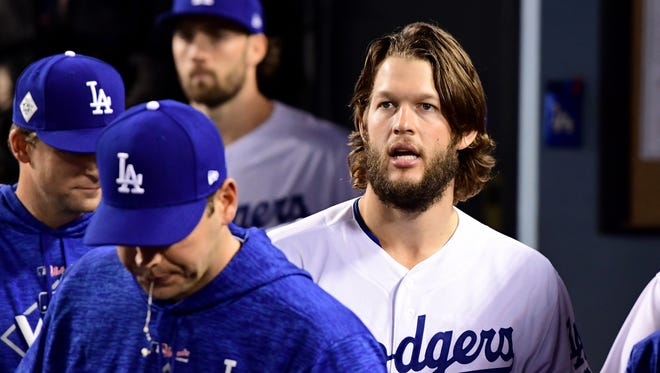 Clayton Kershaw pitched well in Game 1 and Game 7 of the World Series, but faltered in a pivotal Game 5.