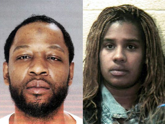 Eddie L. Williams Jr. and Akeita Harden suspects in the March 10 shooting in South Lebanon Township. File -- Lebanon Daily News