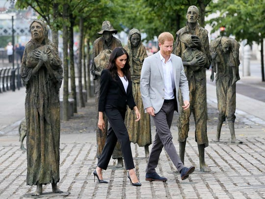 Prince Harry and Duchess Meghan of Sussex visited the