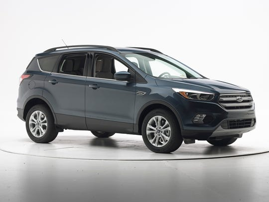 The 2018 Ford Escape received a good rating in the
