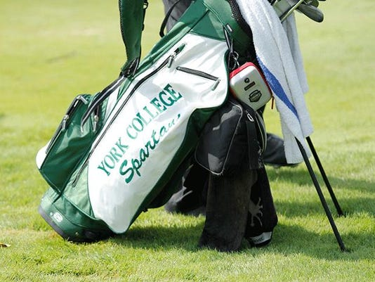 York College golf