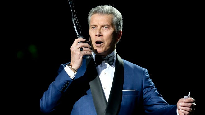 Michael Buffer will announce the starting lineups for the Nevada-UNLV game.