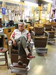 Lifelong Salem resident Mike Witenberger waits for