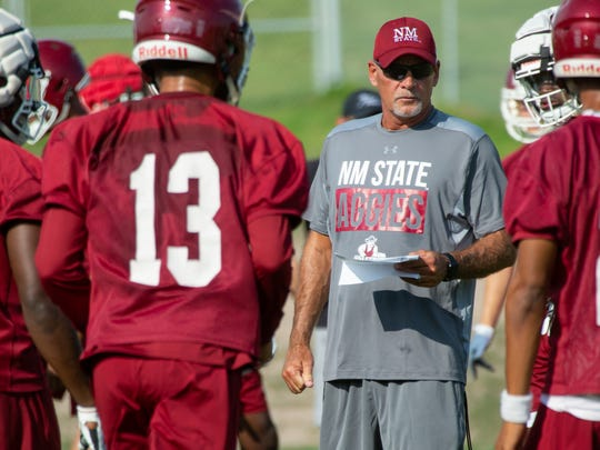 New Mexico State University Head Coach Doug Martin