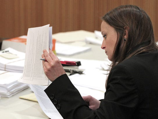 Monmouth County Assistant Prosecutor Melanie Falco