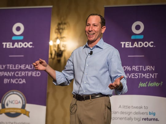 Jason Gorevic is CEO of the telehealth company Teladoc.