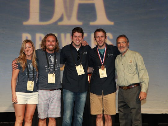 The Taxman Brewing team wins a bronze medal at the