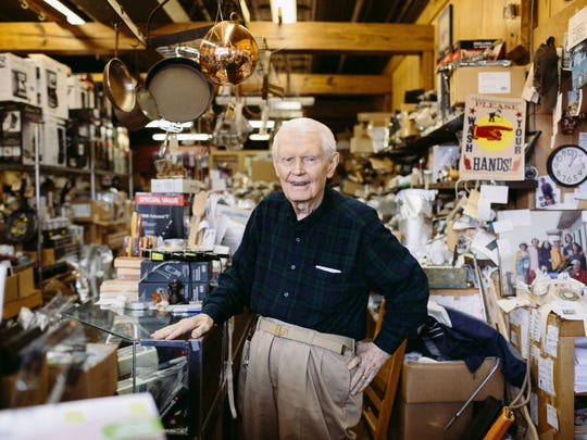 Ted Davis Jr. was the patriarch of Davis Cookware and a notable advocate of Hillsboro Village.