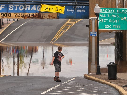 Manville has survived many floods in the past four decades, but flood control may not be in the town's future.