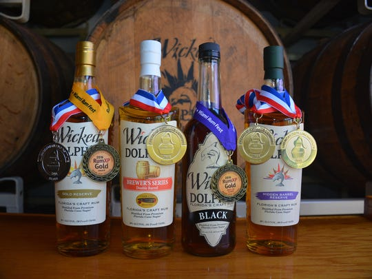 Wicked Dolphin has been collecting awards, including gold medals at the International Rum Competition in Madrid.