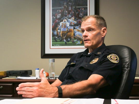 Clarksville Police Chief Al Ansley said he's proud of the drop in crime from 2017 to 2018.