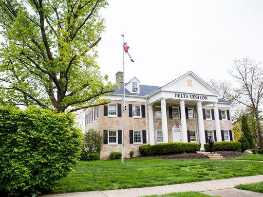 Miami University's Delta Upsilon fraternity is on probation with university sanctions.