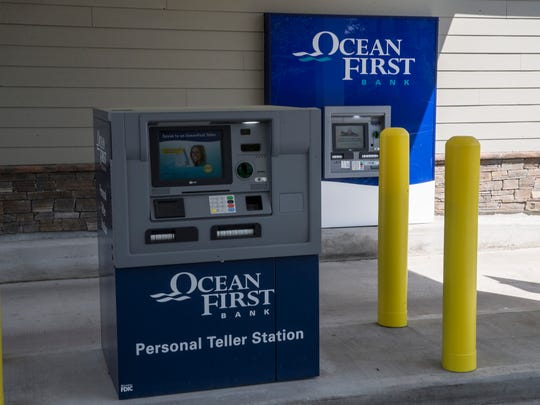 OceanFirst Bank has set up these Personal Teller Machines