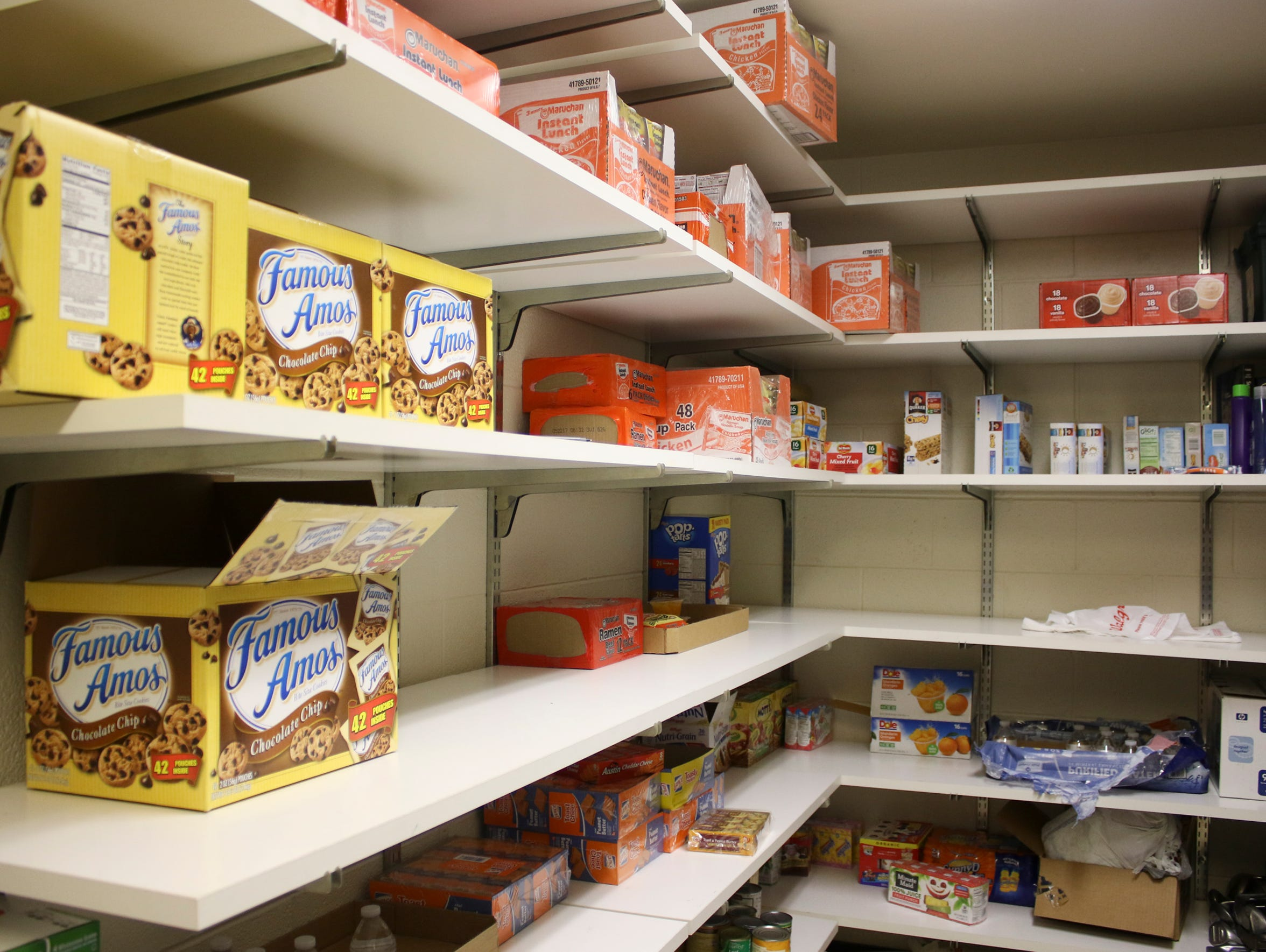 Teens4Teens donations help stock the FUEL room at school
