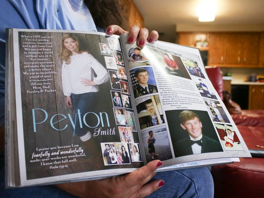 Jami Smith, mother of Peyton Smith, credits Peyton's