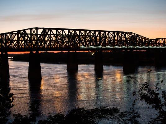Big River Crossing Bridge Lighting 1