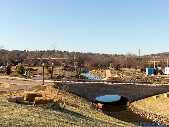 The Wausau Riverlife Development undergoes renovation