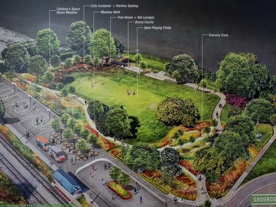 Plans were shown at an open house event Thursday explaining