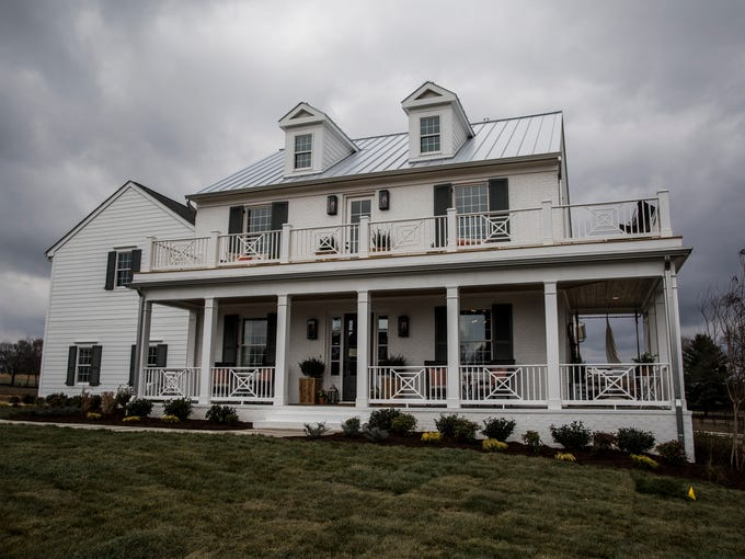 The House For Hope is a modern farm house built by