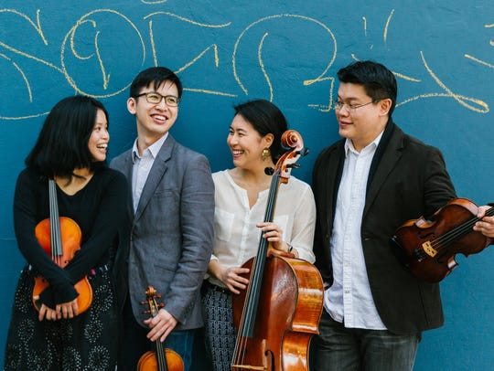 The Formosa String Quartet performs concerts Saturday